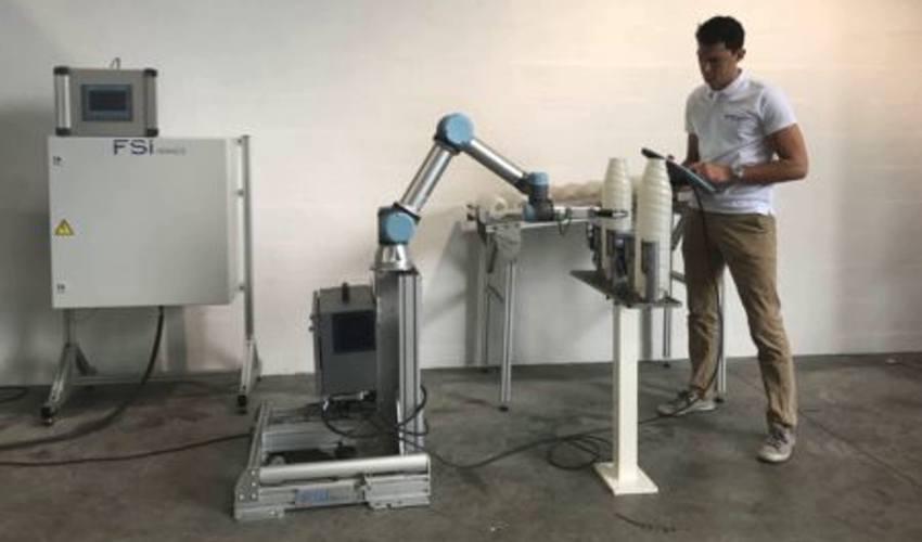 Applicatif robotique avec cobot UR5