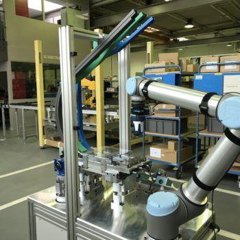Showroom robotique