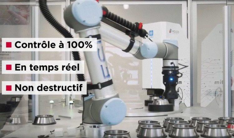 Robot contrôle qualité