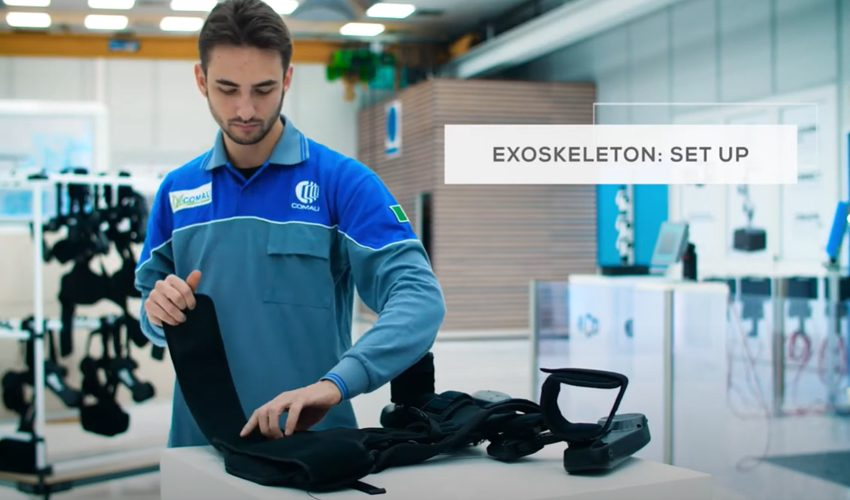 Exoskeleton Comau MATE