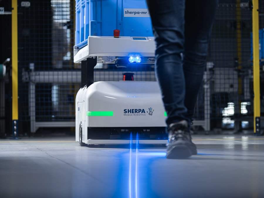 Vente robot Sherpa